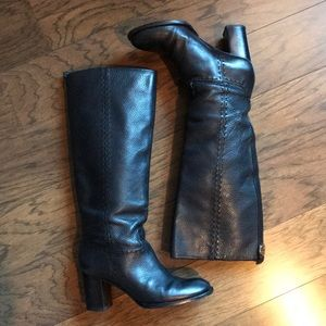 Tory Burch Black Leather Boots sz. 38